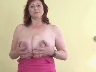 Big Saggy Boobs MILF: Free Mature Porn Video