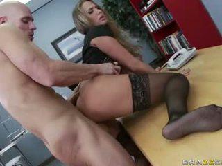 szép nagy mell, több irodai sex szép, főhadiszállás irodai fasz