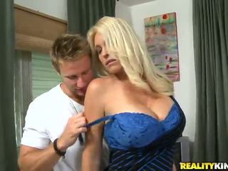 Charlee Chase The Oustanding Tittied MILF Has Made Love By Younger Partner