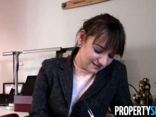 PropertySex - Aquarius client and Virgo real estate agent make sex video