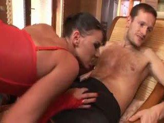 nominale dubbele penetratie seks, heetste groepsseks video-, brunettes thumbnail