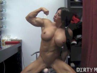 kwaliteit seksspeeltjes seks, nieuw muscular women scène