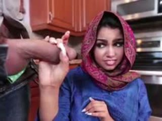 Rambut coklat arab ada adalah filled dengan air mani