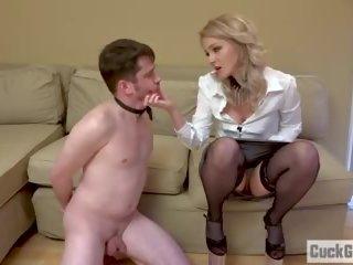 Sissy Husband Becomes a Cuckold, Free HD Porn 46