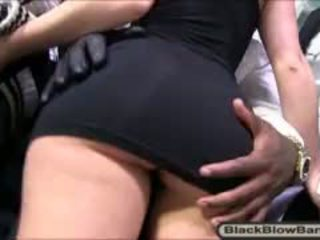 Slutty Remy Lacroix Throated And Facialized By Black Dicks