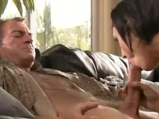 hardcore sex, brunettes, groot blowjob actie video-