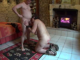 Mature Whore Serving a Young Guest Part 2: Free HD Porn 48