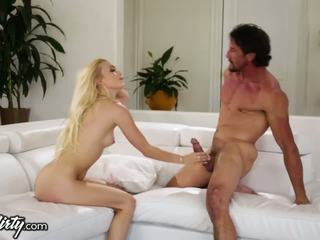 Voyeur Catches Alex Grey riding her Stepdad!