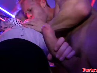 Euro partybabes rammed by strippers