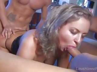 Two Guys Defile Pretty Young Blonde Babe Mp4: Free Porn e4