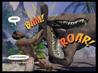 Cretaceous pula al 3-lea homosexual comic sci-fi sex poveste