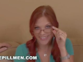 ideal sucking cock posted, blowjob, redhead vid