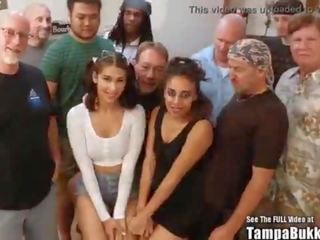 real bukakke, choking video, fresh interracial