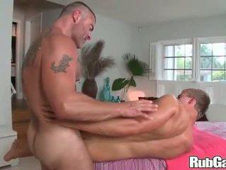 mooi neuken, groot spier scène, heetste olie porno