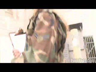 kwaliteit cumshots neuken, paardrijden film, plezier militair video-