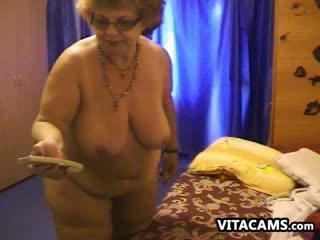 nieuw webcam scène, vers bbw video-, oma vid
