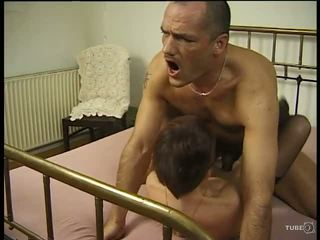 mature european getting some action