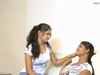 Cuties Tries Their First Lesbo, Free Indian Porn Video f3