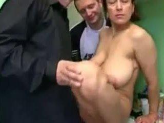 Russian mom bang