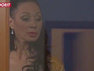 ideaal brunette, meer anale sex scène, nieuw kont neuken video-