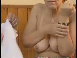 阿妈, 老+年轻, 面部护理, 肛门