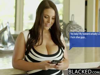 Blacked stor naturlig tuttarna australiska baben angela vit fucks bbc