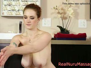 masajista, wam, nuru, masturbándose