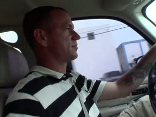 Nasty slut rides on the hard cock