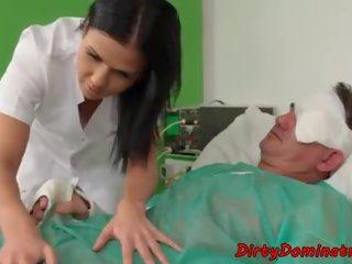 Dominatrix Nurse Babe Sucks Patients Cock: Free HD Porn fd