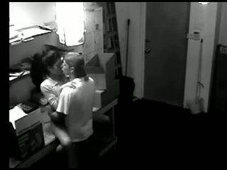 echt voyeur, amateur scène, tiener