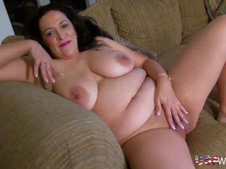 Usawives Chubby American Mature Lady Niki: Free HD Porn 50