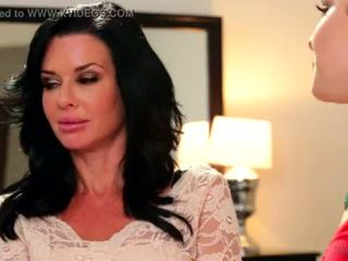 Step-Mother Veronica Avluv and Katie St. Ives Lesbian Affair <span class=duration>- 6 min</span>