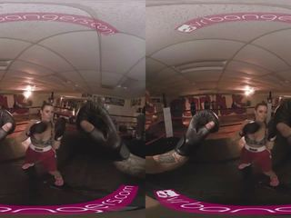 VRBangers Busty milf Kendra Lust getting fucked hard in the boxing ring VR
