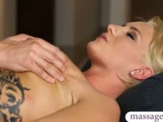 Sexy Blonde Client Cali Carter Twat Fucked By Her Masseur