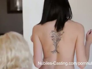 Nubiles Casting - Cum swallowing cutie really wants this job