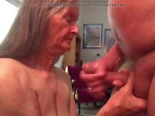 plezier plezier klem, cum in de mond, u grootmoeder klem