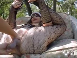 Double Fisting and Dildo Fucking Her Huge Pussy: Porn 2a