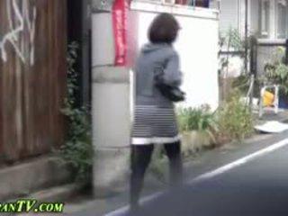 日本の, 盗撮, 公共, フェティッシュ