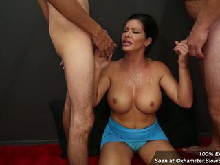 Facial Cum Slut Compilation from Blowbang Girls: HD Porn 7e