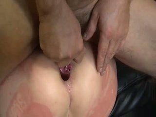 Fuck Fiend Slammed As A Dildo Is In Her Ass