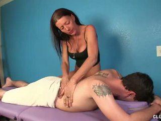 new masseuse, best jerking movie, fresh massage thumbnail