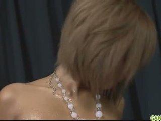 Naolejované hore blond pervert riku hinano pička fond