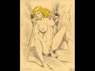 Huge breast women sucking comics