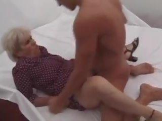 u oma, groot volwassen video-, maria neuken