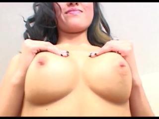 kwaliteit brunette film, een pijpbeurt porno, cumshot