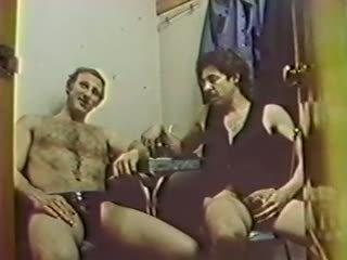 groepsseks scène, wijnoogst, heet femdom film
