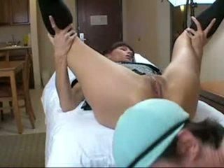 zien anale sex kanaal, kaukasisch actie, plezier anaal masturbatie neuken
