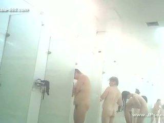 青少年, 偷窺, 浴, 浴室