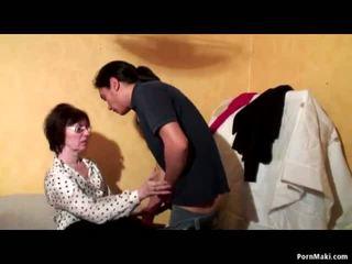 Granny Anal Threesome, Free Mature Porn Video 51