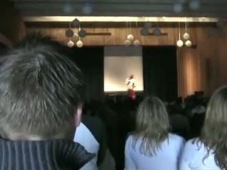 een publiek, school actie, beste podium